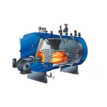 Котел стальной газотрубный серии КСГ