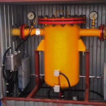 Фильтр газовый грубой очистки ФГО-ГО