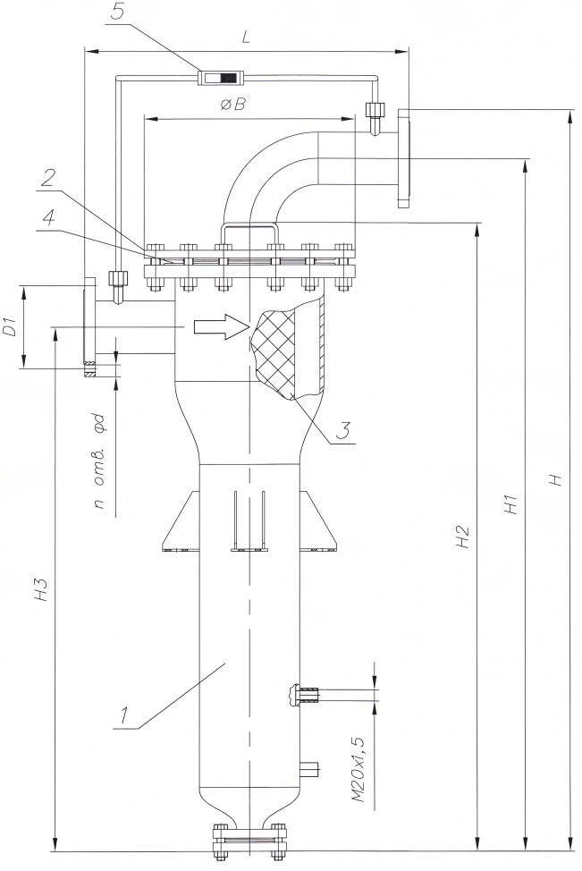 Схема конструкции ФГО-Ц
