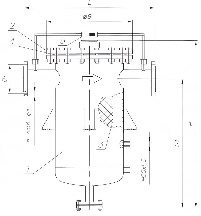 Схема конструкции ФГ-ГО