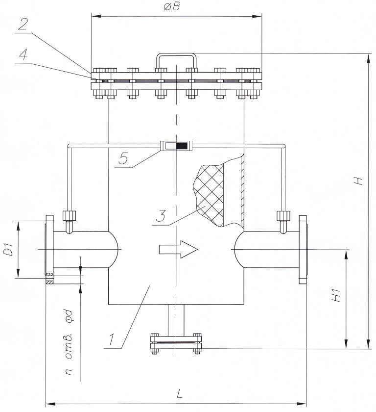 Схема конструкции ФГО-С